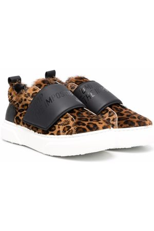 Dsquared2 Leaopard-print slip-on sneakers