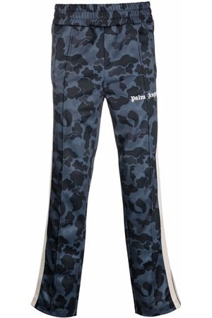 Palm Angels Camouflage print track pants