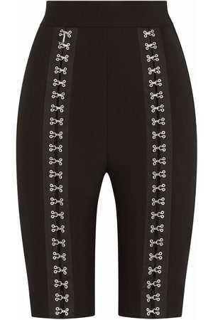 Dolce & Gabbana Dames Bermuda's - Hook-and-eye fastening detail shorts