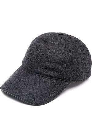 corneliani Heren Petten - Virgin wool baseball cap