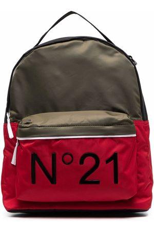 Nº21 TEEN logo-print backpack