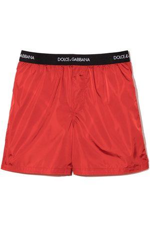 Dolce & Gabbana Logo tape swim shorts
