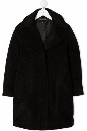 Emporio Armani Meisjes Donsjassen - Single-breasted tailored coat