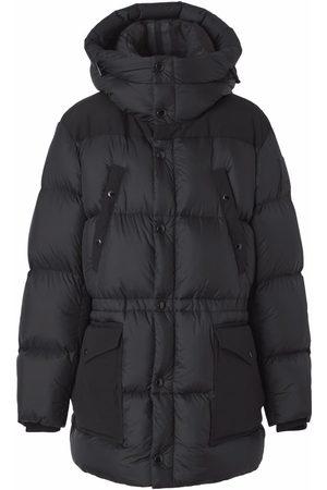 Burberry Heren Donsjassen - Logo appliqué nylon puffer coat