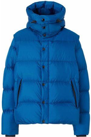 Burberry Detachable-sleeve down-feather jacket