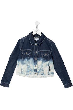 Givenchy Jongens Donsjassen - Tie-dye denim jacket