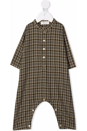 Babe And Tess Pyjama's - Plaid band collar pajamas
