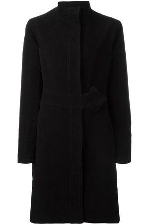 Jean Paul Gaultier Funnel neck wrap coat