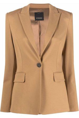 Pinko Dames Blazers - Tailored single-breasted blazer
