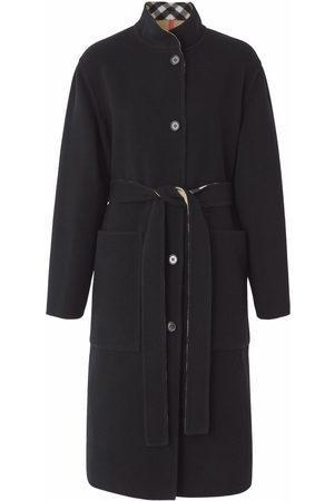 Burberry Dames Wollen jassen - Reversible check wool coat