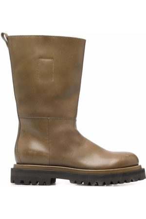 Officine creative Wisal pull-on leather boots