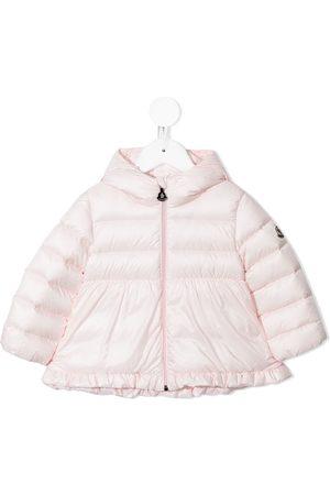 Moncler Ruffle-trimmed puffer jacket