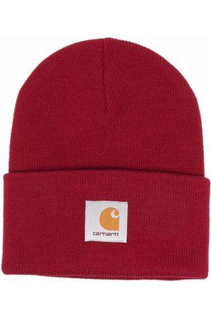 Carhartt Heren Mutsen - Purl-knit logo-patch beanie