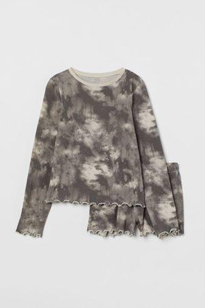 H & M Meisjes Pyjama's - Pyjama van geribd katoen