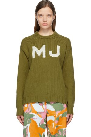 Marc Jacobs Dames Sweaters - Green 'The Big' Sweater