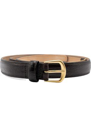 Dsquared2 Heren Riemen - Leather Croco Belt