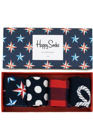 Happy Socks Sokken - Nautical giftbox 4-pack