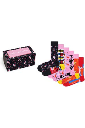 Happy Socks Ondermode - Pink Panther giftbox 6-pack