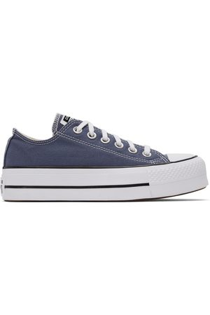 Converse Grey Chuck Taylor All Star Lift Low Sneakers