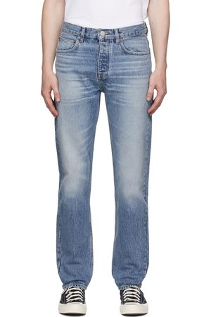 Frame Blue Clean Straight Jeans