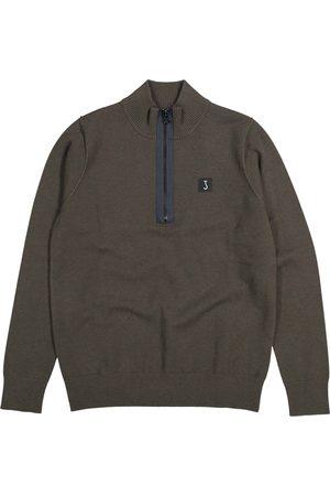 Heren Overhemden - Clifden Half Zip
