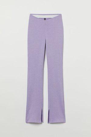 H & M Dames Wijde broeken - Flared legging