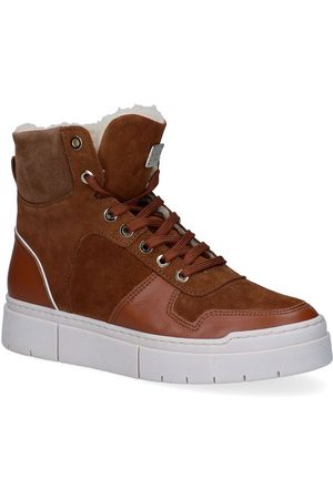 Scapa River Cognac Hoge Sneakers