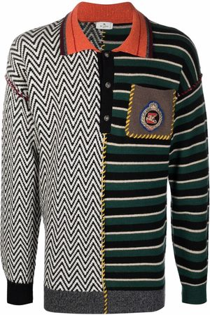 ETRO Patchwork knitted jumper