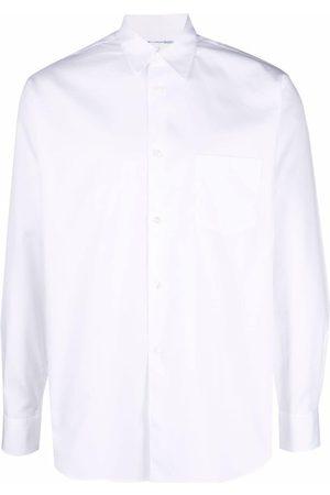 Comme Des Garçons Heren T-shirts - Button front poplin shirt