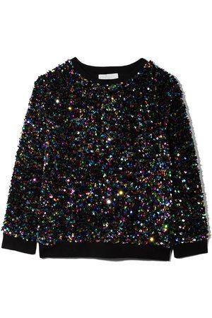 Stella McCartney Kids Meisjes Sweaters - Sequin fleece sweatshirt