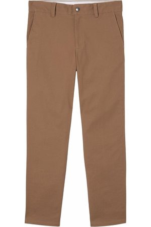 Burberry Straight-fit cropped trousers