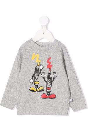Stella McCartney Kids Cartoon-print organic cotton sweatshirt