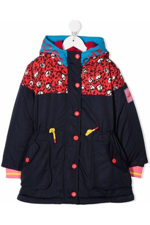 The Marc Jacobs Kids Abstract-print hooded jacket