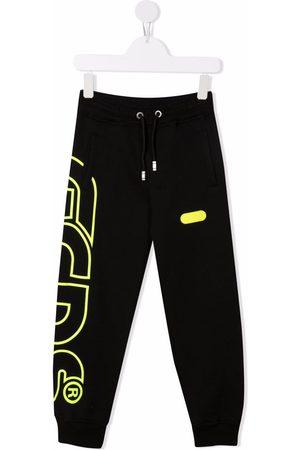 Gcds Kids Jongens Joggingbroeken - Logo-print track pants