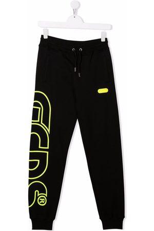 Gcds Kids Joggingbroeken - TEEN logo-print track pants