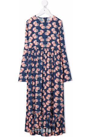 Marni Kids Floral-print maxi dress