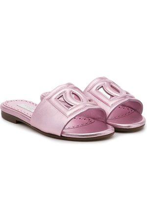 Dolce & Gabbana Kids Meisjes Sportschoenen - Logo sandals