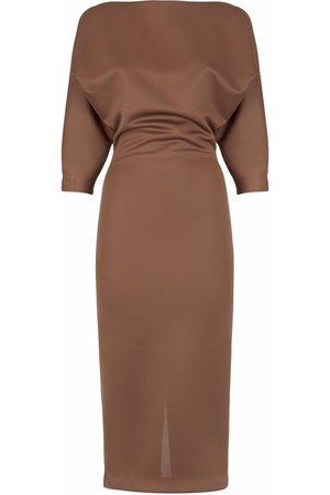 Fendi Piqué jersey sheath dress