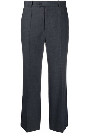 Maison Margiela Cropped straight leg trousers
