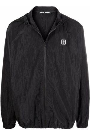 Palm Angels PXP hooded windbreaker jacket