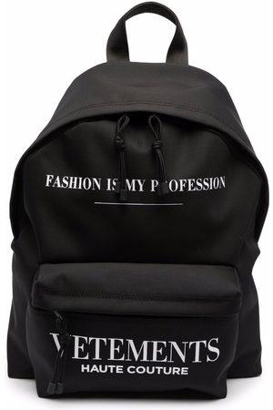 VETEMENTS Logo-print backpack