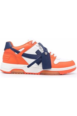 Off-White Heren Lage sneakers - OUT OF OFFICE CALF LEATHER BLUE