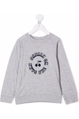 Bonpoint Slogan crew-neck sweatshirt