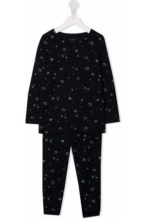 Bonpoint Jongens Pyjama's - Planet-print pajama set