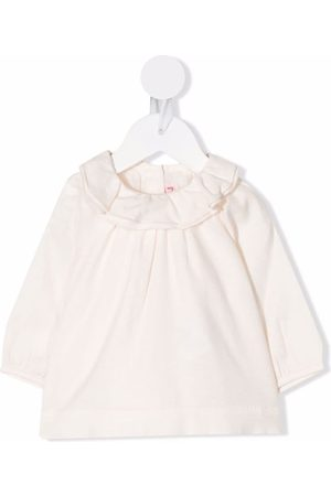 BONPOINT Baby Blouses - Ruffle long-sleeve blouse