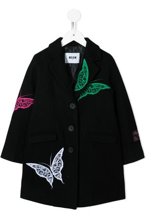 MSGM Kids TEEN single breasted coat