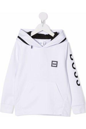 BOSS Kidswear Logo-print hoodie