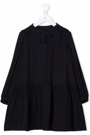 Bonpoint Flared button-down dress