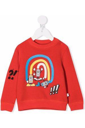 Stella McCartney Kids Cartoon-print cotton sweatshirt