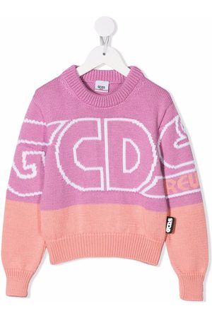 Gcds Kids Large logo-print jumper